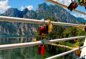Love locks, the symbol of eternal love